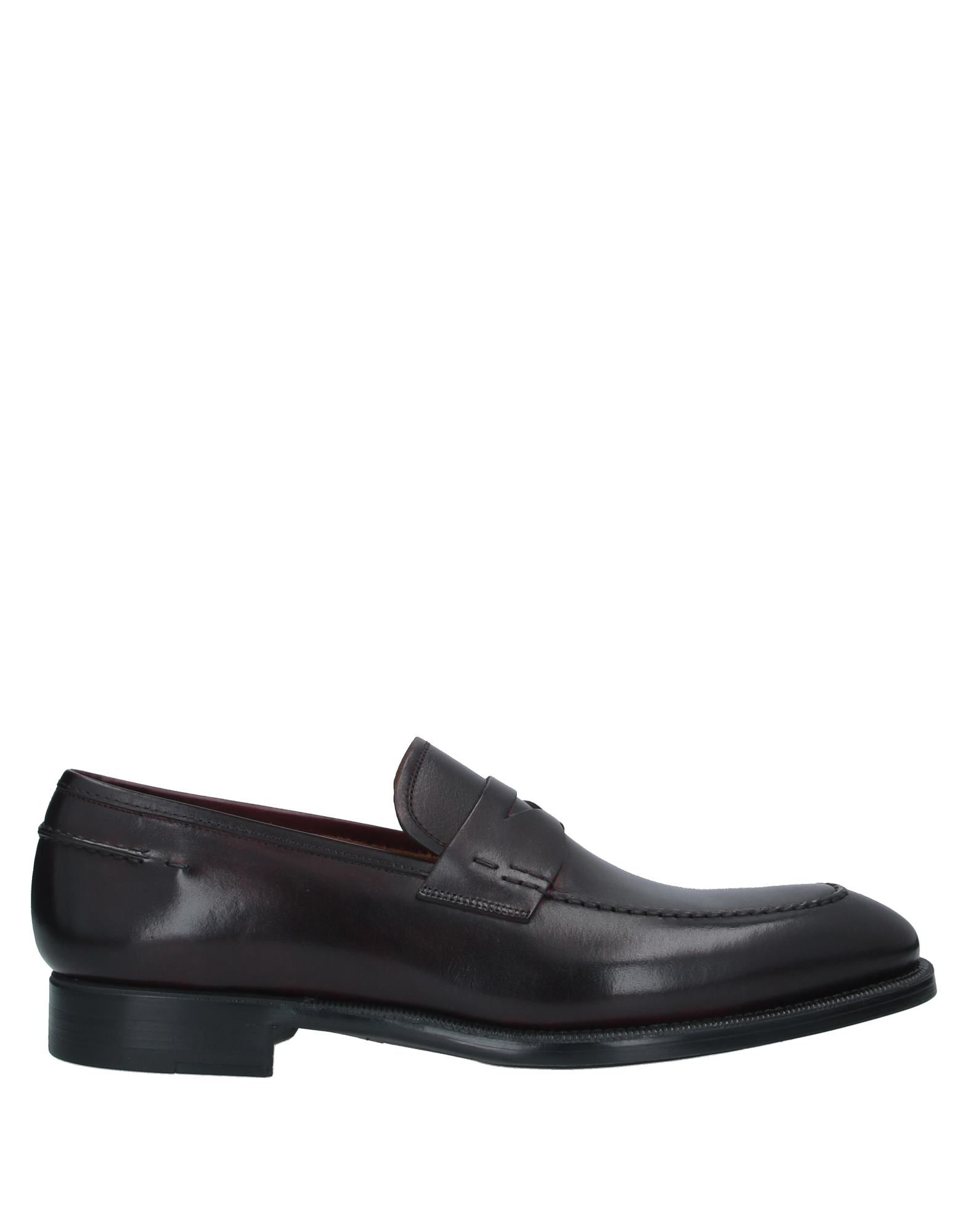 MAGNANNI Loafers. leather, no appliqués, solid color, round toeline, square heel, leather lining, rubber cleated sole, contains non-textile parts of animal origin. Soft Leather