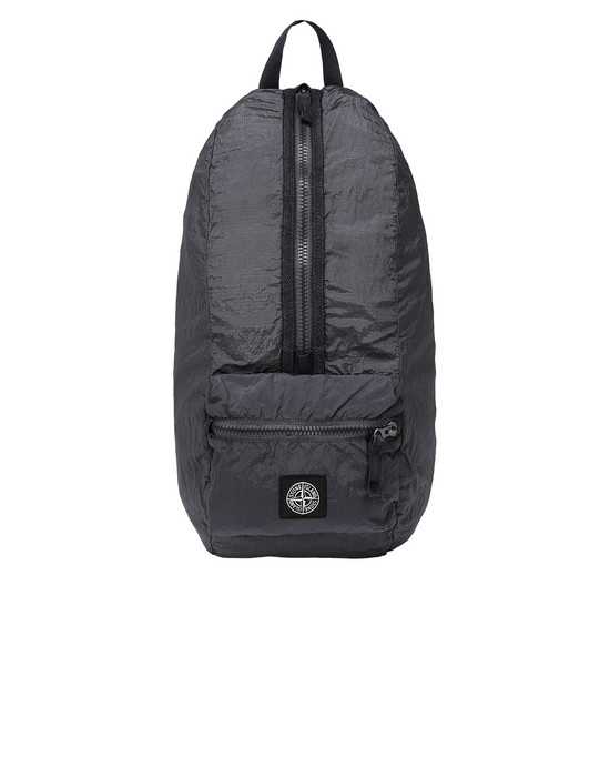 STONE ISLAND 90935 NYLON METAL WATRO RIPSTOP_PACKABLE 백팩 남성 블루 그레이