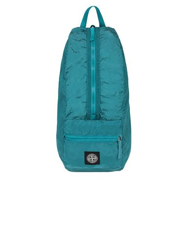 STONE ISLAND 90935 NYLON METAL WATRO RIPSTOP_PACKABLE Backpack Man Turquoise USD 157
