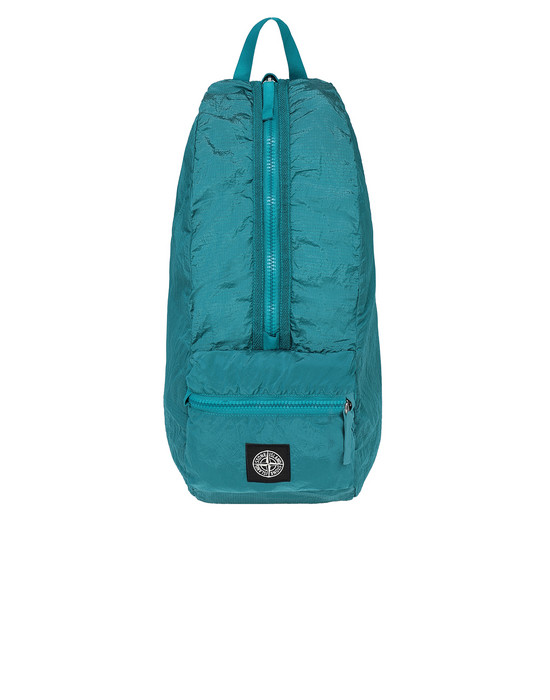 STONE ISLAND 90935 NYLON METAL WATRO RIPSTOP_PACKABLE Backpack Man Turquoise