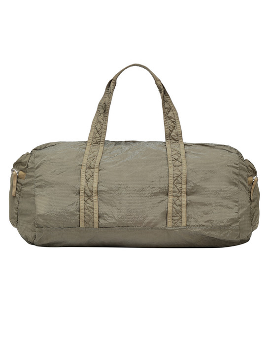 STONE ISLAND 91035 NYLON METAL WATRO RIPSTOP_PACKABLE  Travel & duffel bag Man Dark Beige
