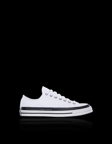 Moncler Fragment + Converse Chuck 70 White Sneakers Man