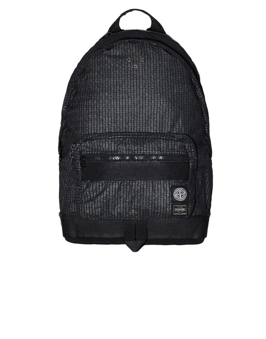 STONE ISLAND 917P1 STONE ISLAND/PORTER®<br>REFLECTIVE WEAVE RIPSTOP-TC Backpack Man