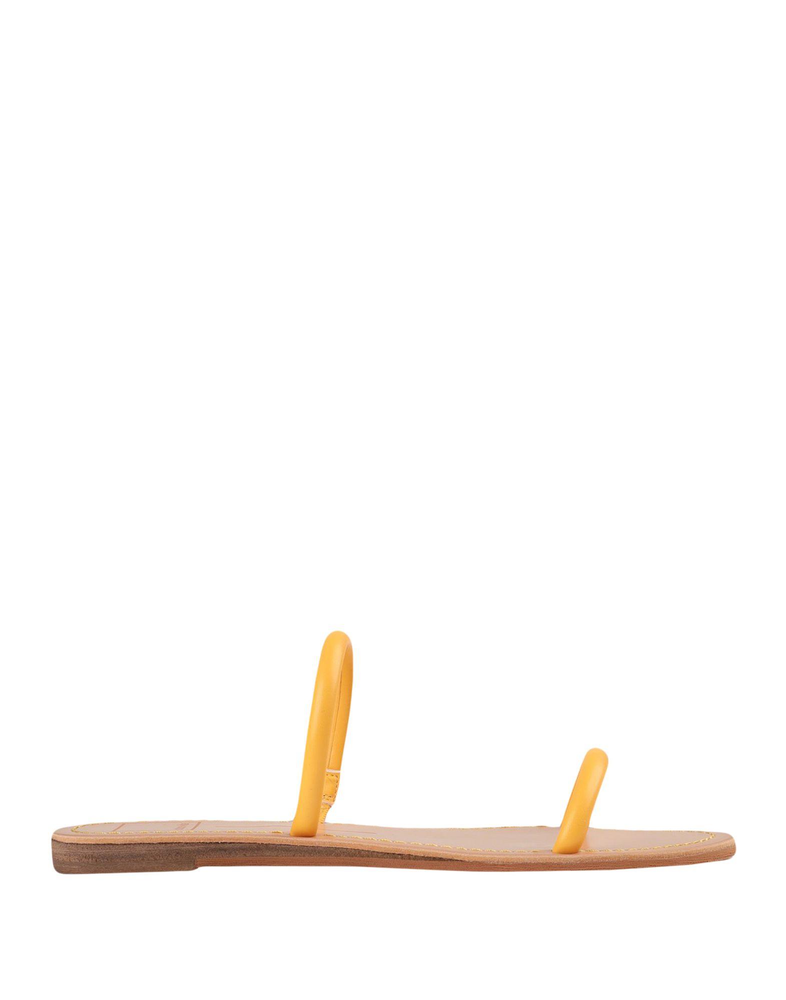 《セール開催中》DOLCE VITA レディース サンダル あんず色 37 紡績繊維 DARLA SANDAL