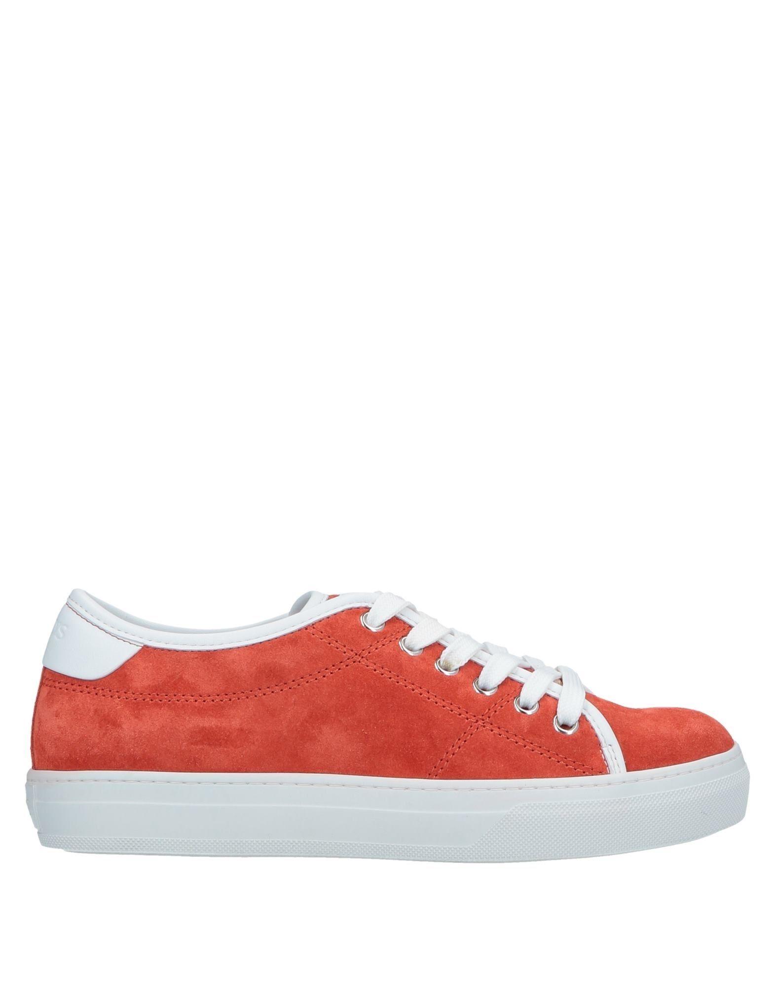 TOD'S トッズ レディース スニーカー&テニスシューズ(ローカット) 赤茶色 - コーラル - オレンジ - ターコイズブルー - パープル