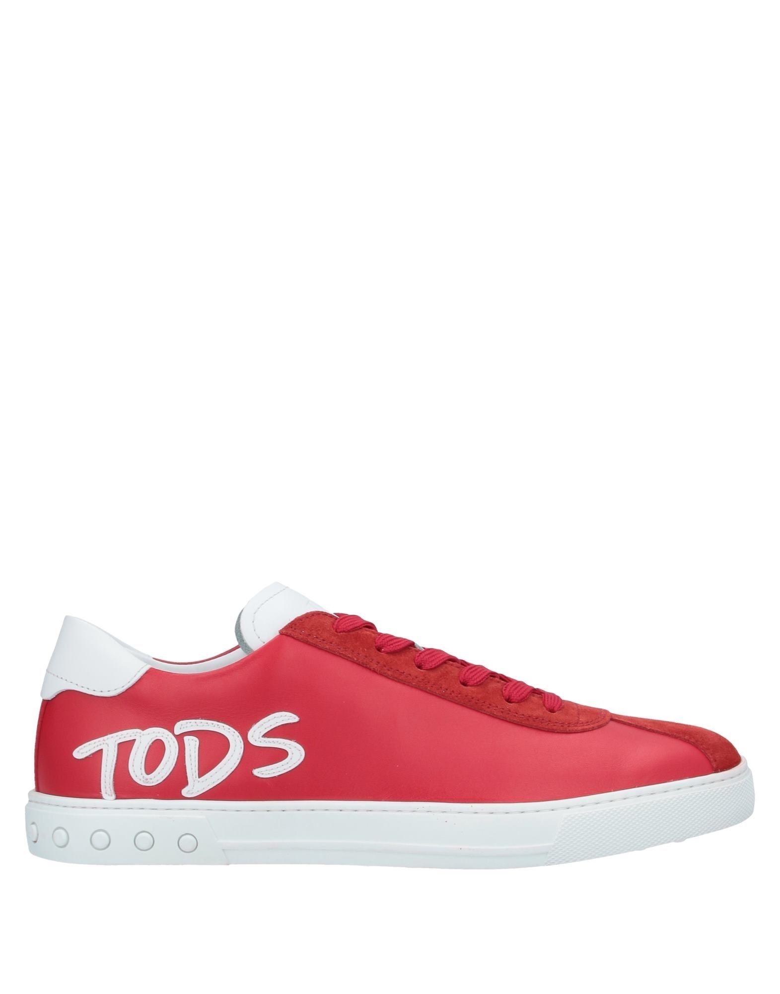 TOD'S トッズ メンズ スニーカー&テニスシューズ(ローカット) レッド