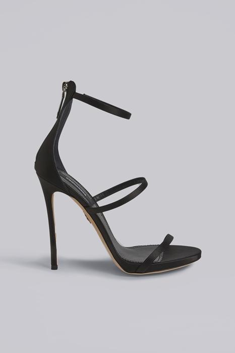 Sandales à talons Taille 35 72% Viscose 28% Soie - Dsquared2 - Modalova