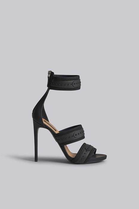 Sandales à talons Taille 35 70% Cuir 15% Polyester 10% Nylon 5% Élasthanne - Dsquared2 - Modalova