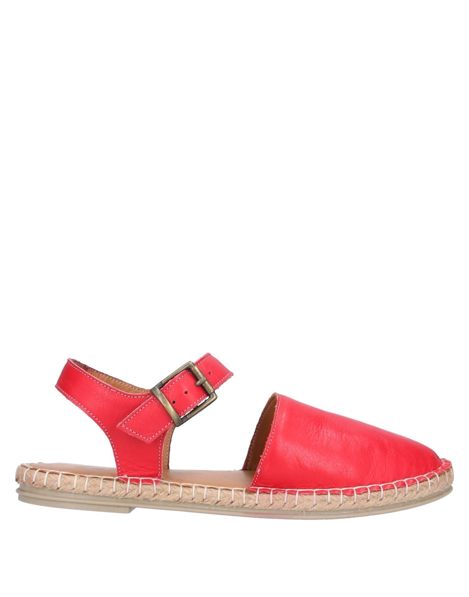BUENO Espadrilles. leather, no appliqués, solid color, wrapping straps closure, round toeline, flat, leather lining, rubber sole, contains non-textile parts of animal origin. Soft Leather