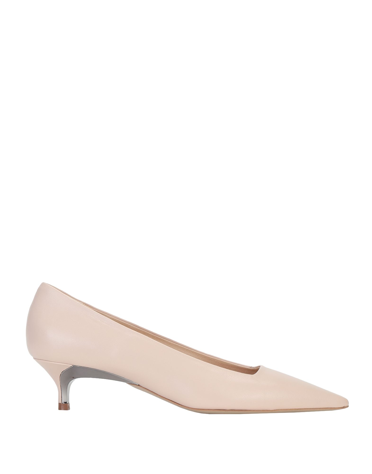 FURLA Pumps. no appliqués, solid color, narrow toeline, spike heel, leather lining, rubber sole, contains non-textile parts of animal origin. Soft Leather