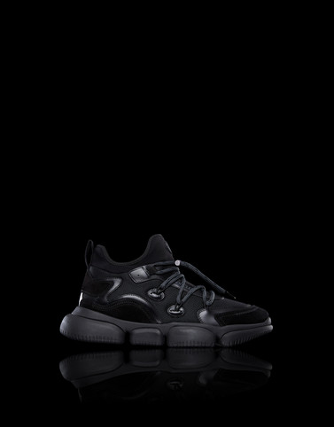 THE LACED BUBBLE Black Sneakers Man