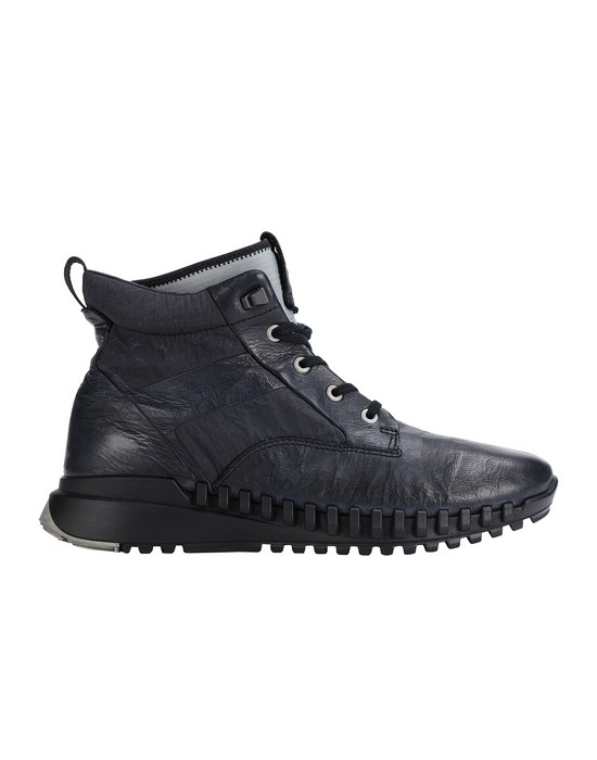 Chaussure S0796 GARMENT DYED LEATHER EXOSTRIKE BOOT WITH DYNEEMA® STONE ISLAND - 0
