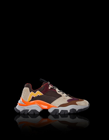 LEAVE NO TRACE Brown Sneakers Man