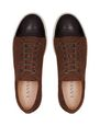 LANVIN Sneakers Man DBB1 TRAINERS IN SUEDE AND CROCODILE-EMBOSSED CALFSKIN LEATHER f