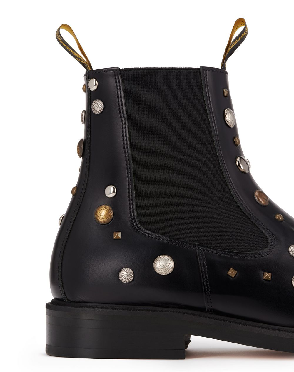 LEATHER AND STUDS CHELSEA BOOTS - Lanvin