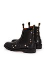 LANVIN Boots Man LEATHER AND STUDS CHELSEA BOOTS f