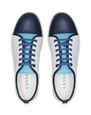 LANVIN Sneakers Man DBB1 SUEDE AND LEATHER TRAINERS f