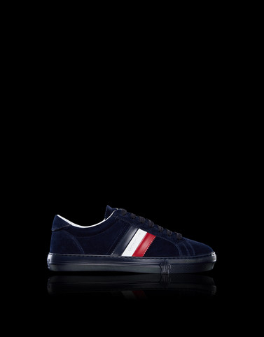 NEW MONACO Dark blue Sneakers Homme