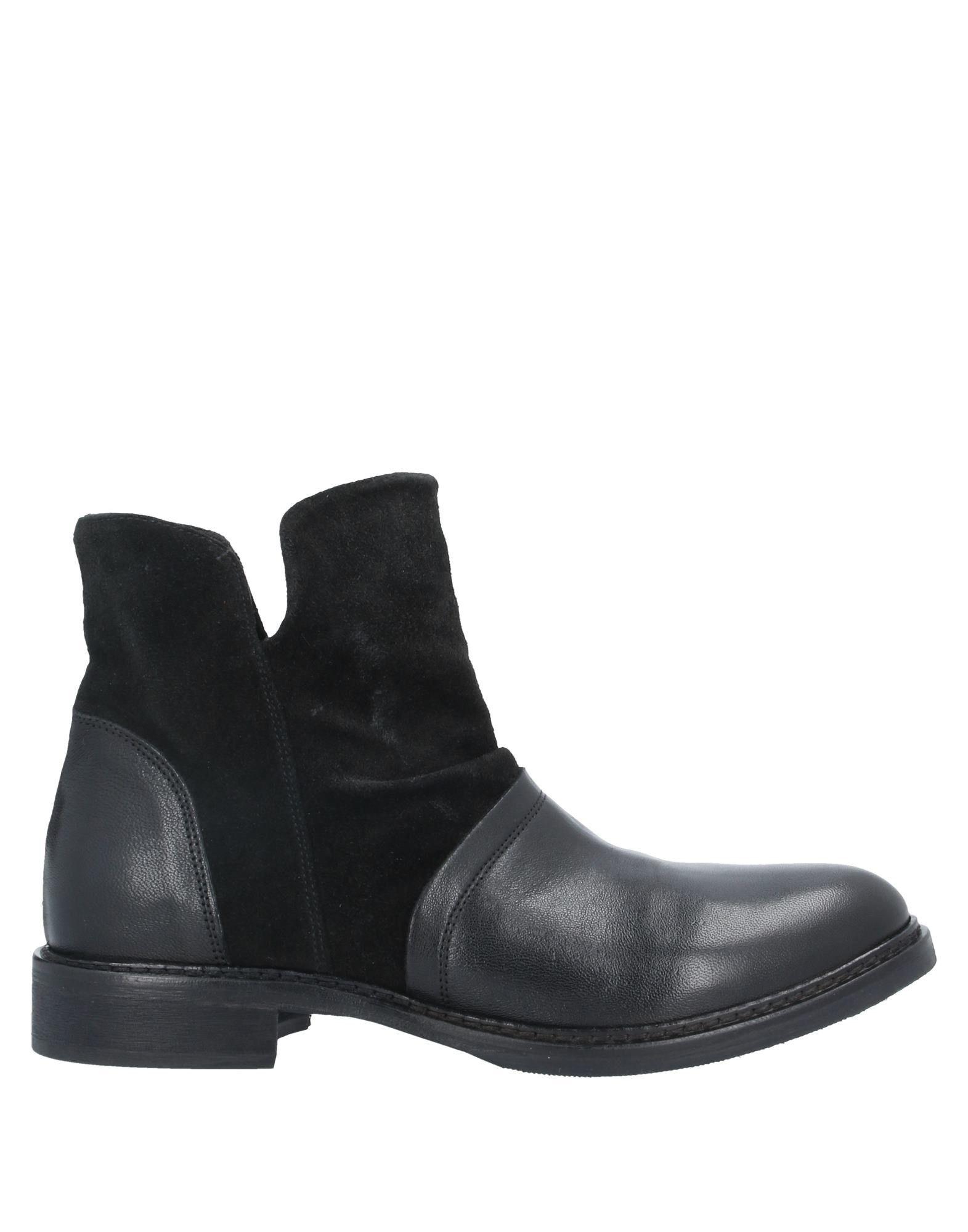《セール開催中》MICHEL BATIC レディース ショートブーツ ブラック 35 革