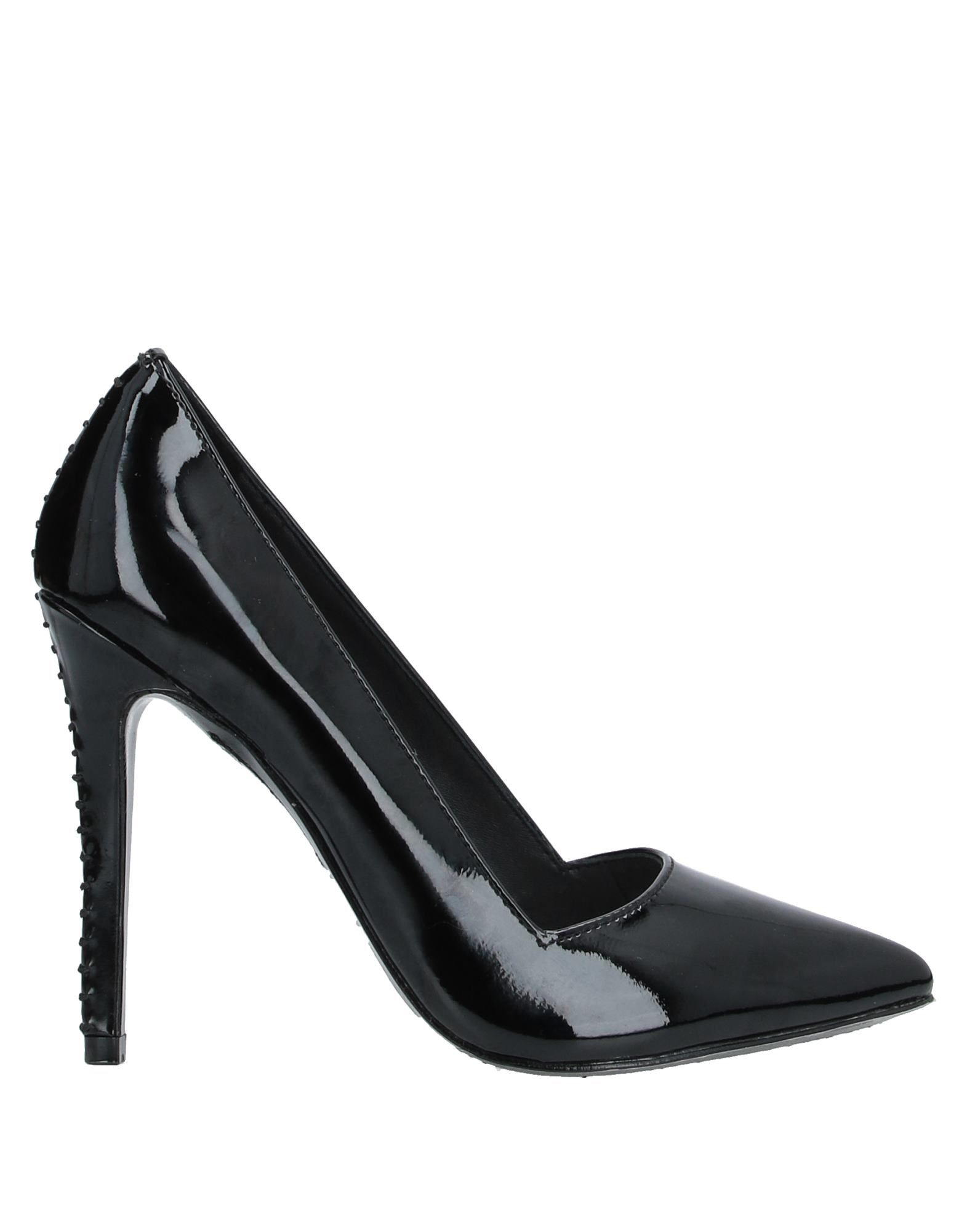 ALICE + OLIVIA Pumps. no appliqués, varnished effect, solid color, narrow toeline, spike heel, leather lining, leather sole, contains non-textile parts of animal origin. Soft Leather