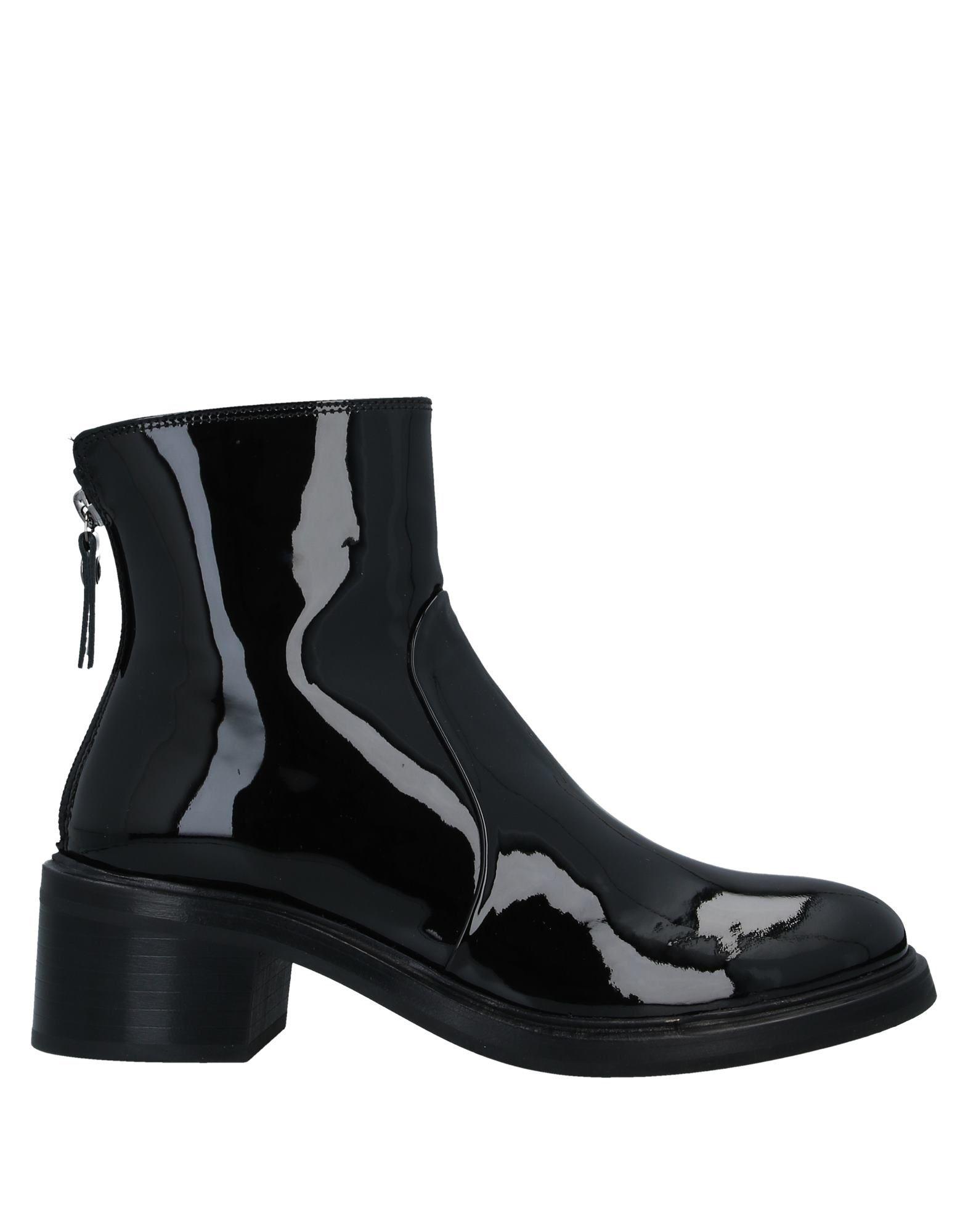 《セール開催中》AGL ATTILIO GIUSTI LEOMBRUNI レディース ショートブーツ ブラック 36 革