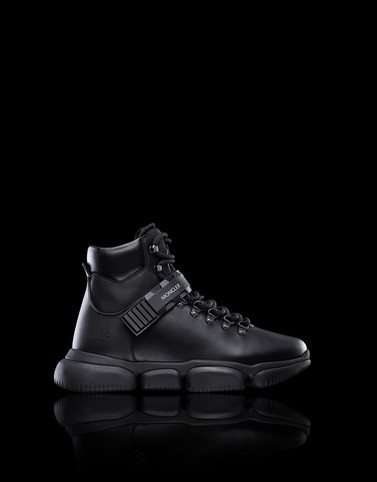 THE BUBBLE BOOTS Black Sneakers Man