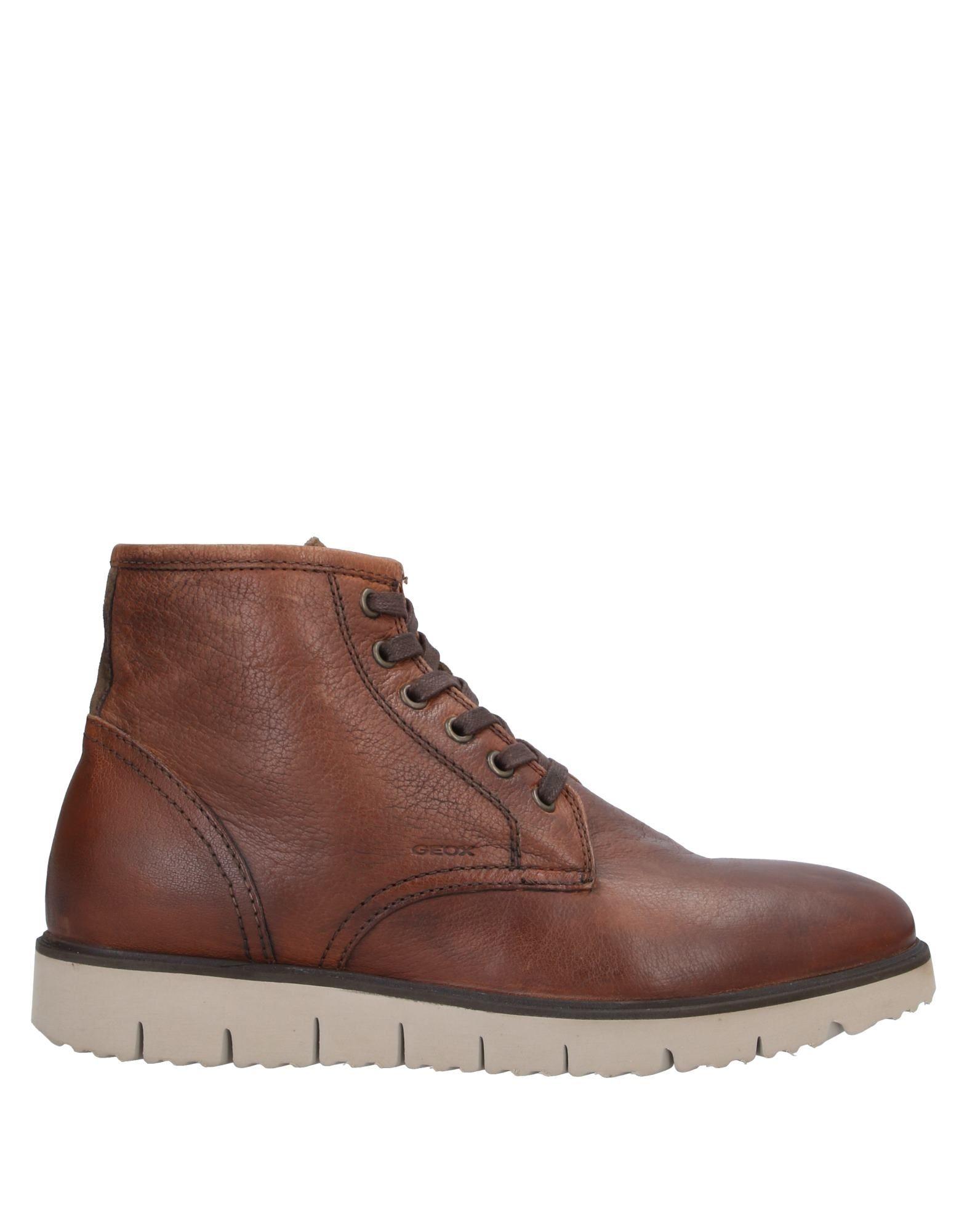 GEOX Полусапоги и высокие ботинки ботинки geox geox ge347amfslt7