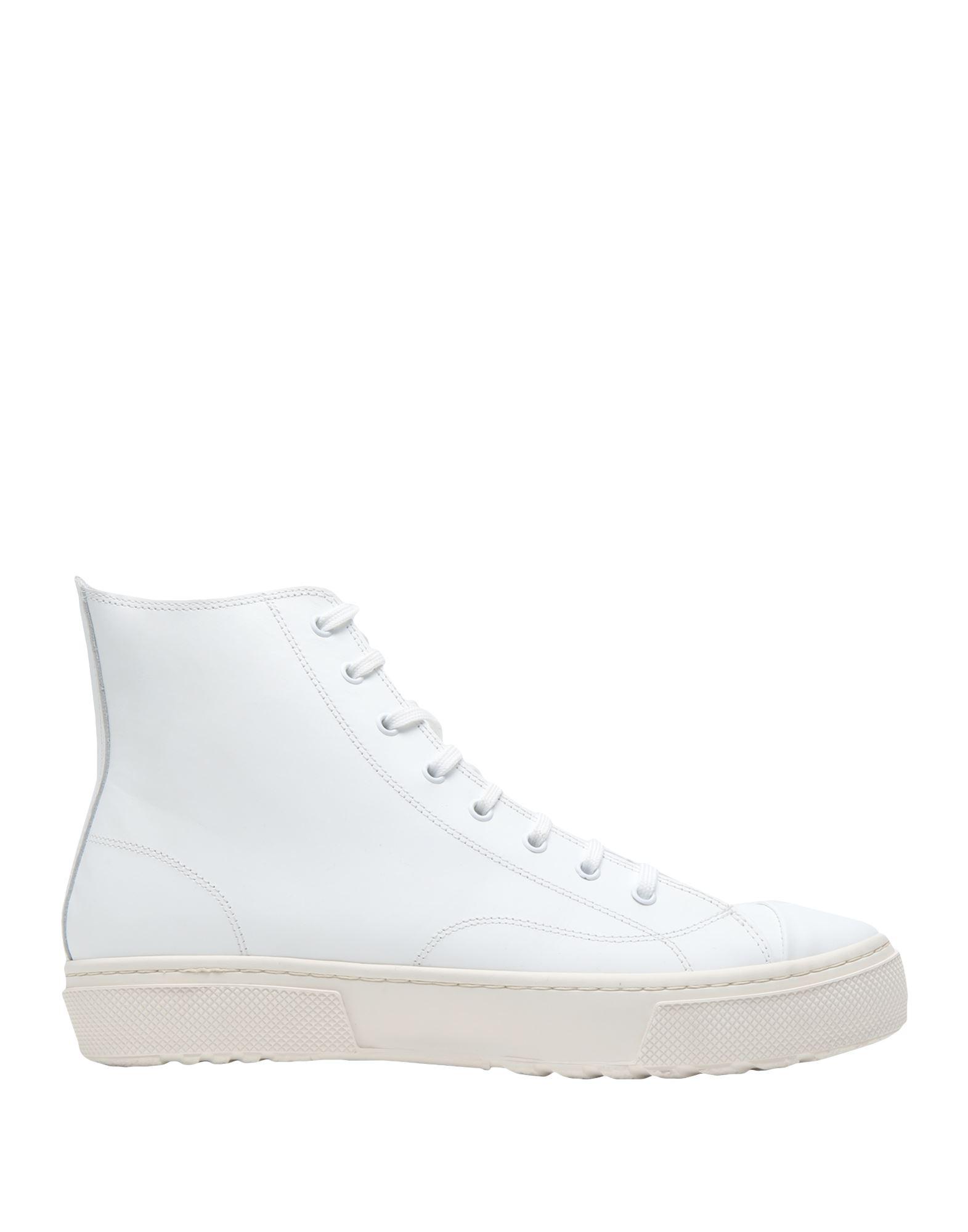 кеды низкие на шнуровке из спилка 8 by YOOX Высокие кеды и кроссовки