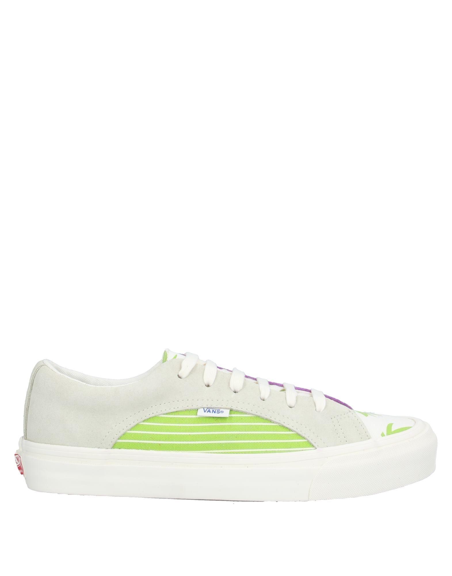 《セール開催中》VANS メンズ スニーカー&テニスシューズ(ローカット) ホワイト 8.5 革 / 紡績繊維