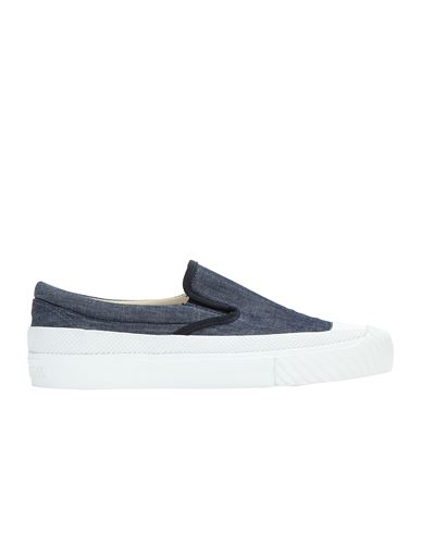 STONE ISLAND S0348 CHAMBRAY CANVAS  Chaussure Homme Wash EUR 295