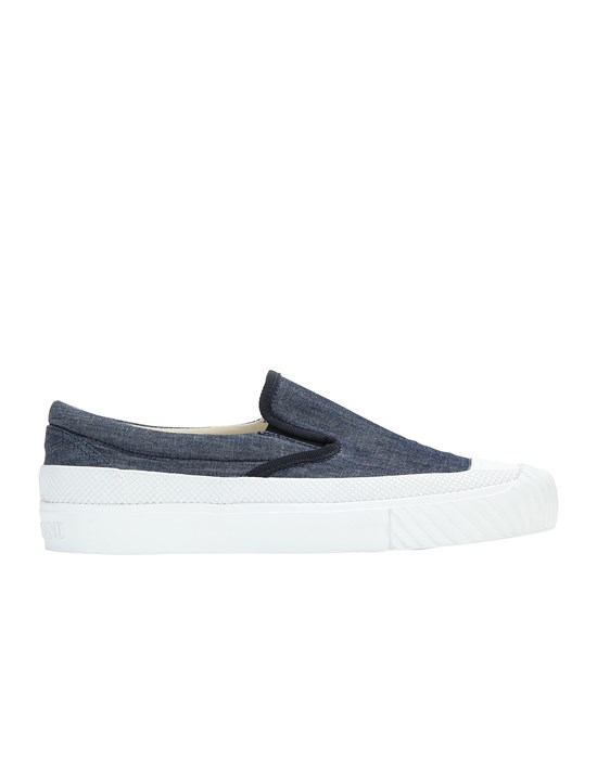 Shoe Man S0348 CHAMBRAY CANVAS Front STONE ISLAND