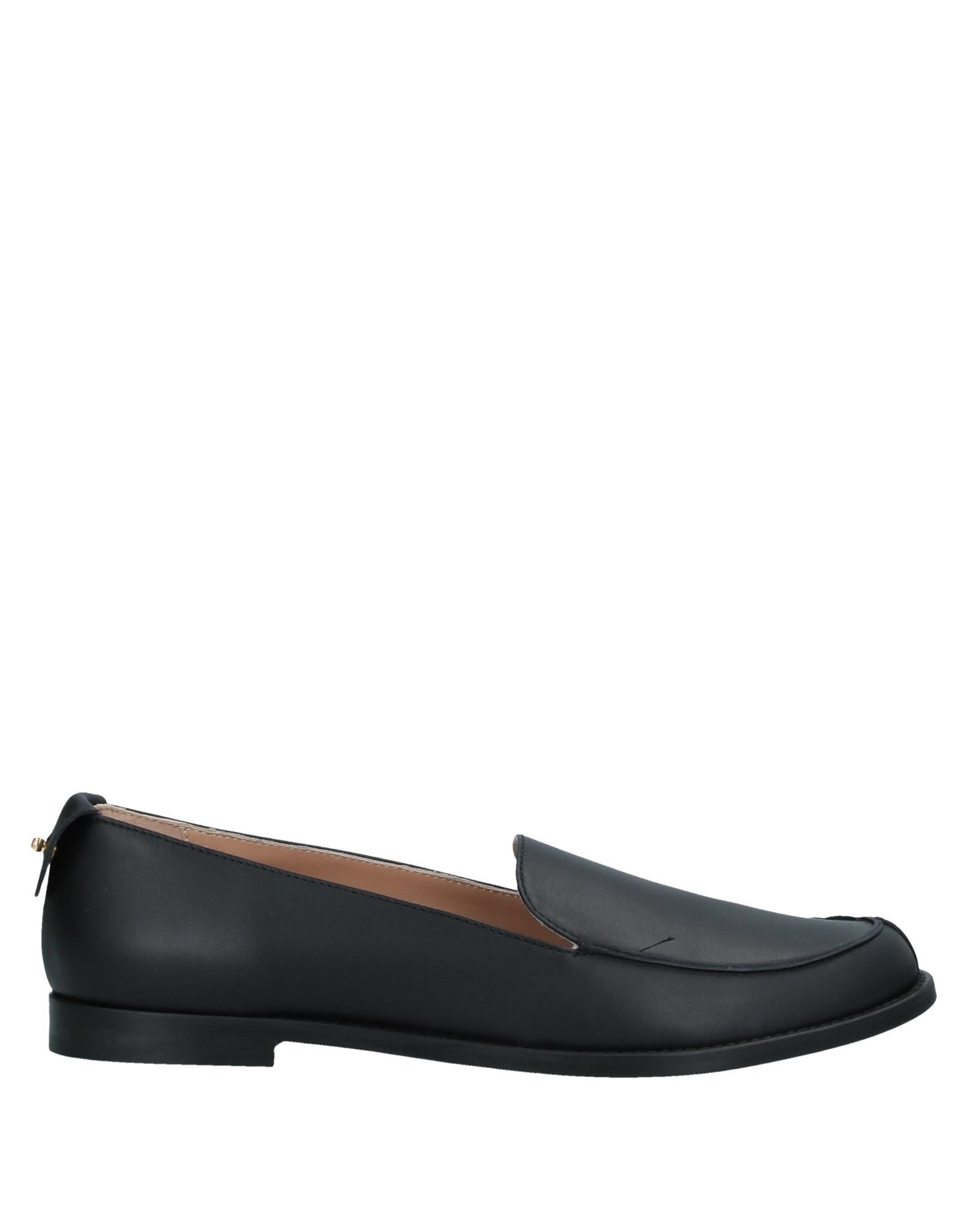PHILOSOPHY di LORENZO SERAFINI Loafers. leather, contrasting applications, solid color, round toeline, flat, leather lining, leather sole, contains non-textile parts of animal origin. Soft Leather