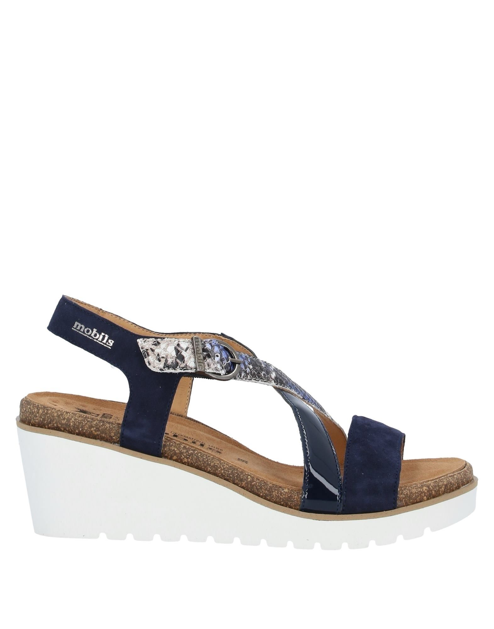 MEPHISTO Sandals. snakeskin print, suede effect, logo, solid color, buckle fastening, round toeline, wedge heel, leather lining, rubber cleated sole, contains non-textile parts of animal origin. Soft Leather