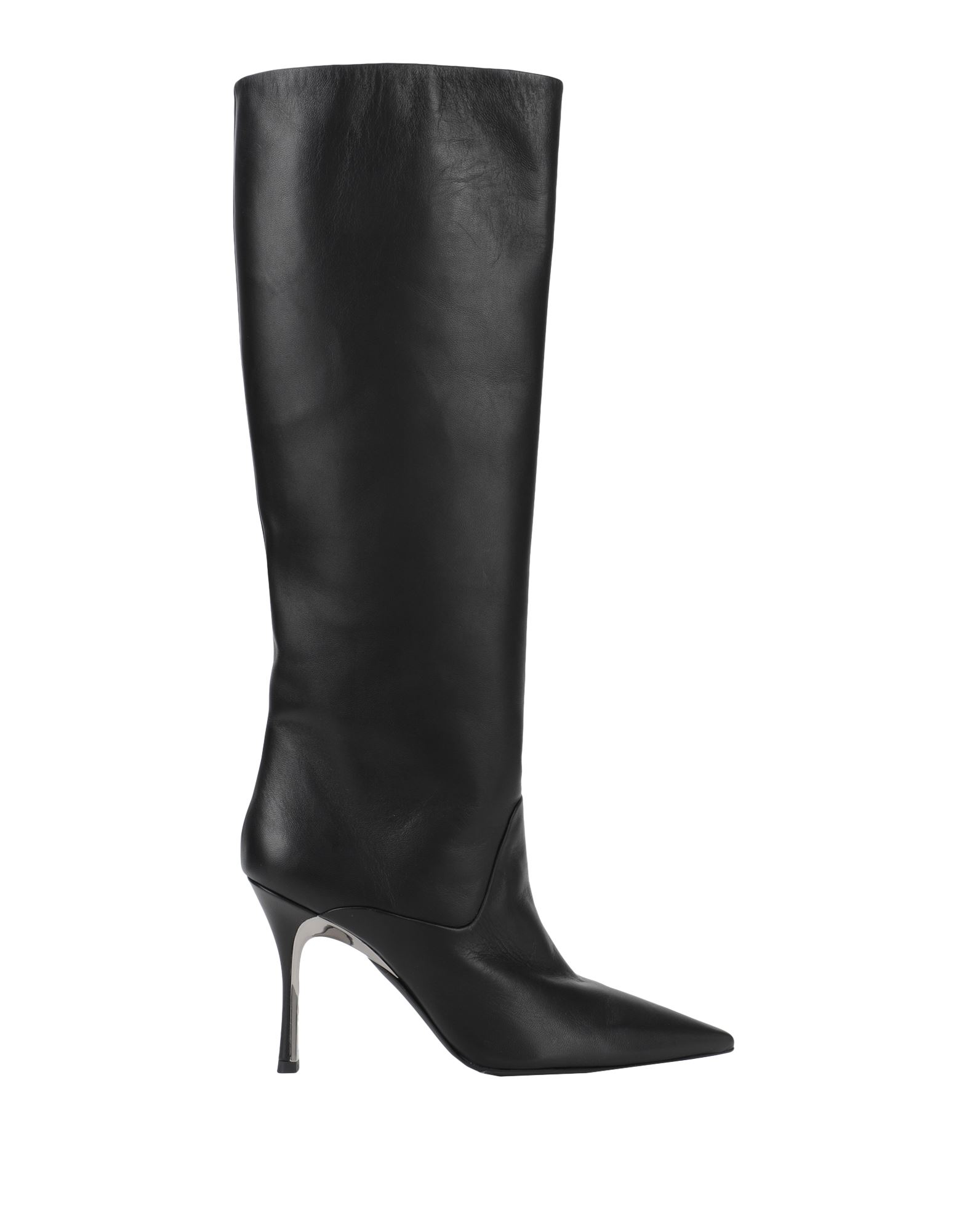 FURLA Boots. leather, no appliqués, solid color, narrow toeline, spike heel, leather lining, leather sole, contains non-textile parts of animal origin. 100% Sheepskin