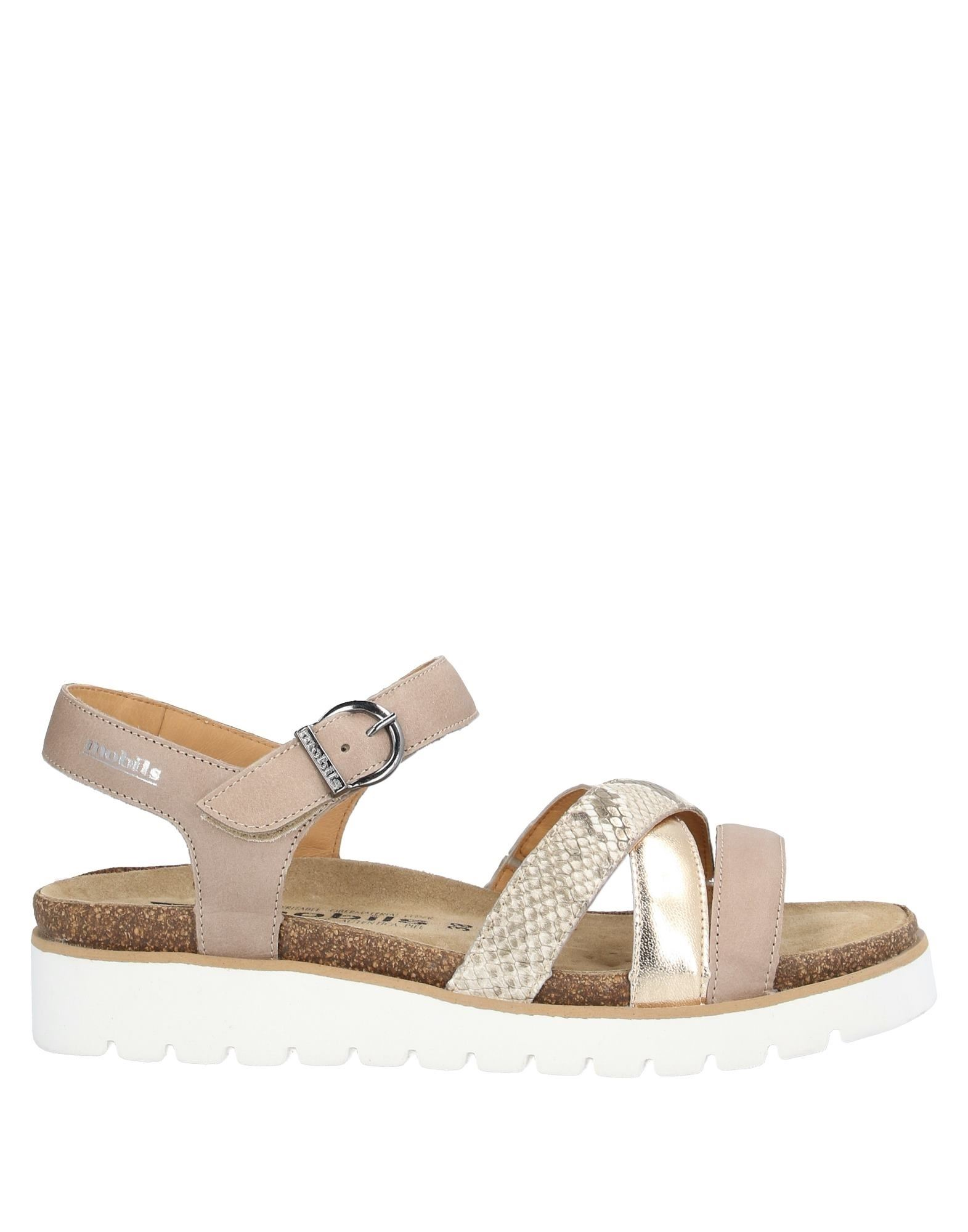 MEPHISTO Sandals. laminated effect, print, snakeskin print, multicolor pattern, wrapping straps closure, round toeline, wedge heel, leather lining, rubber sole, contains non-textile parts of animal origin. Soft Leather