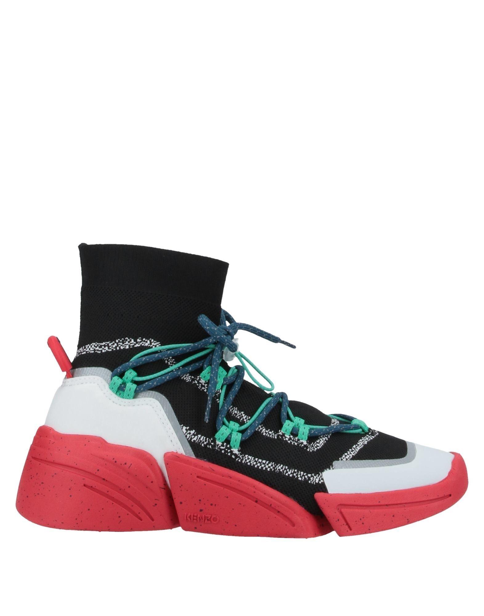 KENZO Высокие кеды и кроссовки kenzo высокие кеды и кроссовки