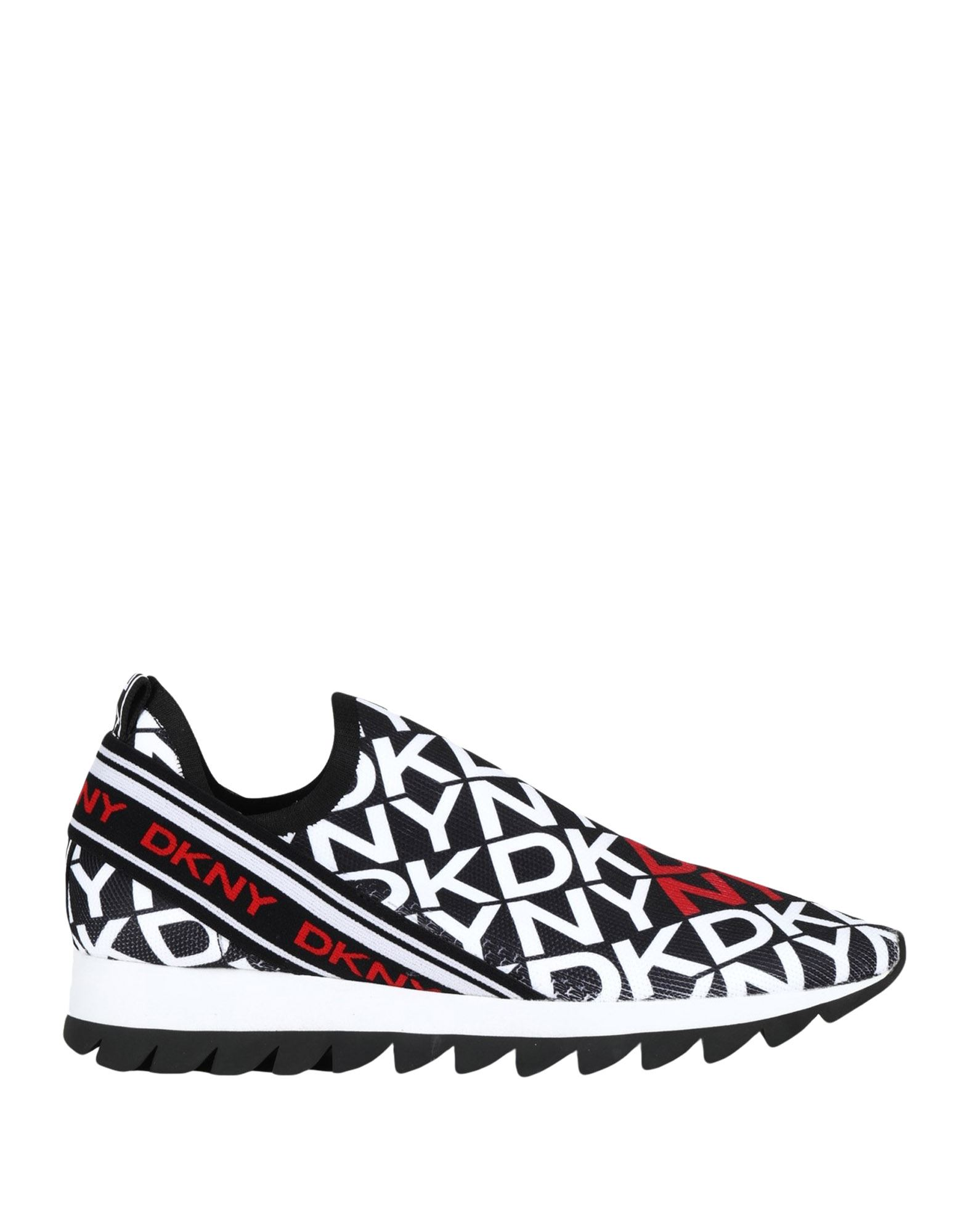 кеды низкие на шнуровке из спилка DKNY Низкие кеды и кроссовки