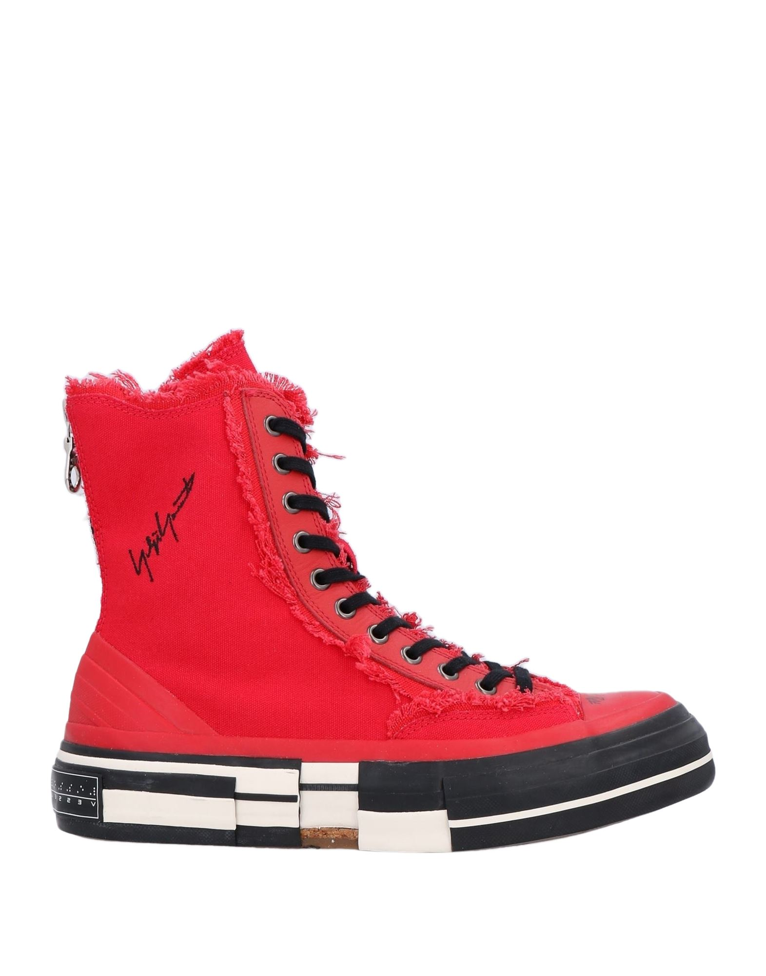YOHJI YAMAMOTO x XVESSEL Полусапоги и высокие ботинки yohji yamamoto высокие кеды и кроссовки