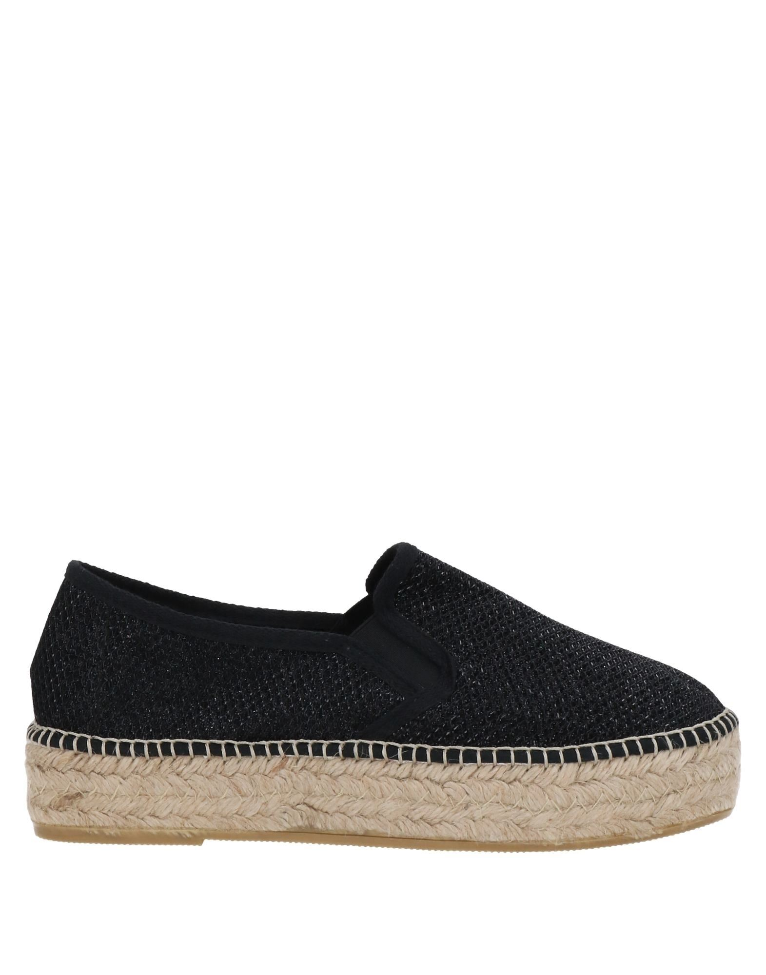 TONI PONS Espadrilles. techno fabric, solid color, round toeline, flatform, rope wedge, fully lined, rubber sole, no appliqués. Textile fibers