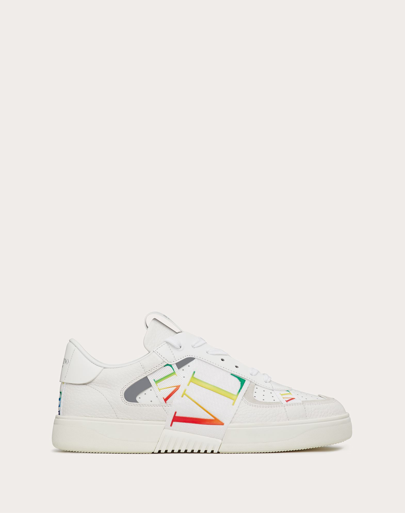 Valentino VALENTINO GARAVANI UOMO LOW-TOP CALFSKIN VL7N SNEAKER WITH BANDS
