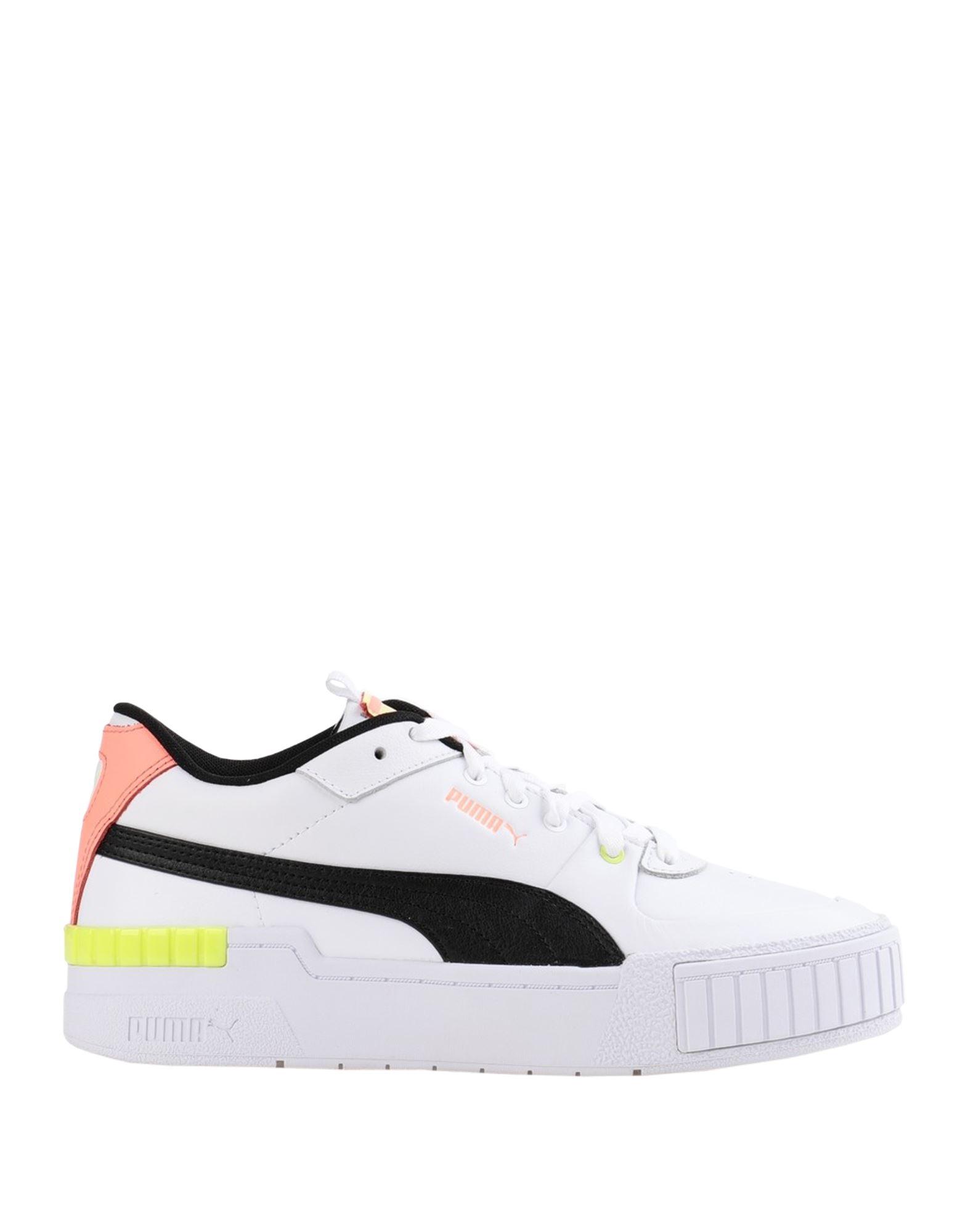 кеды женские puma cali wn s цвет белый 36915504 размер 5 5 37 5 PUMA Низкие кеды и кроссовки