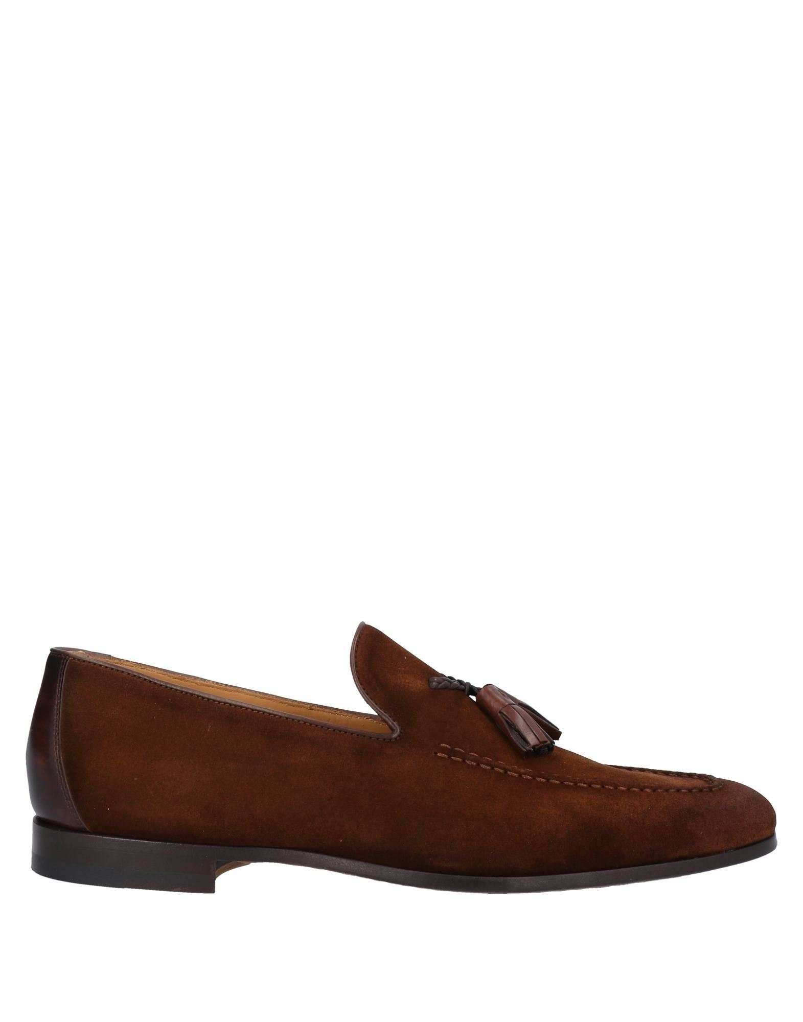 MAGNANNI Loafers. leather, tassels, solid color, round toeline, flat, leather lining, leather sole, contains non-textile parts of animal origin. Soft Leather