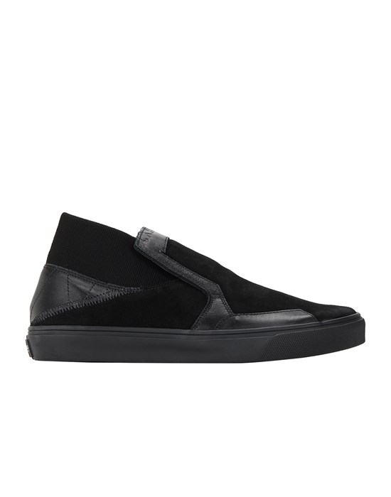 STONE ISLAND SHADOW PROJECT S0122 SCARPA SLIP-ON Scarpa Uomo Nero