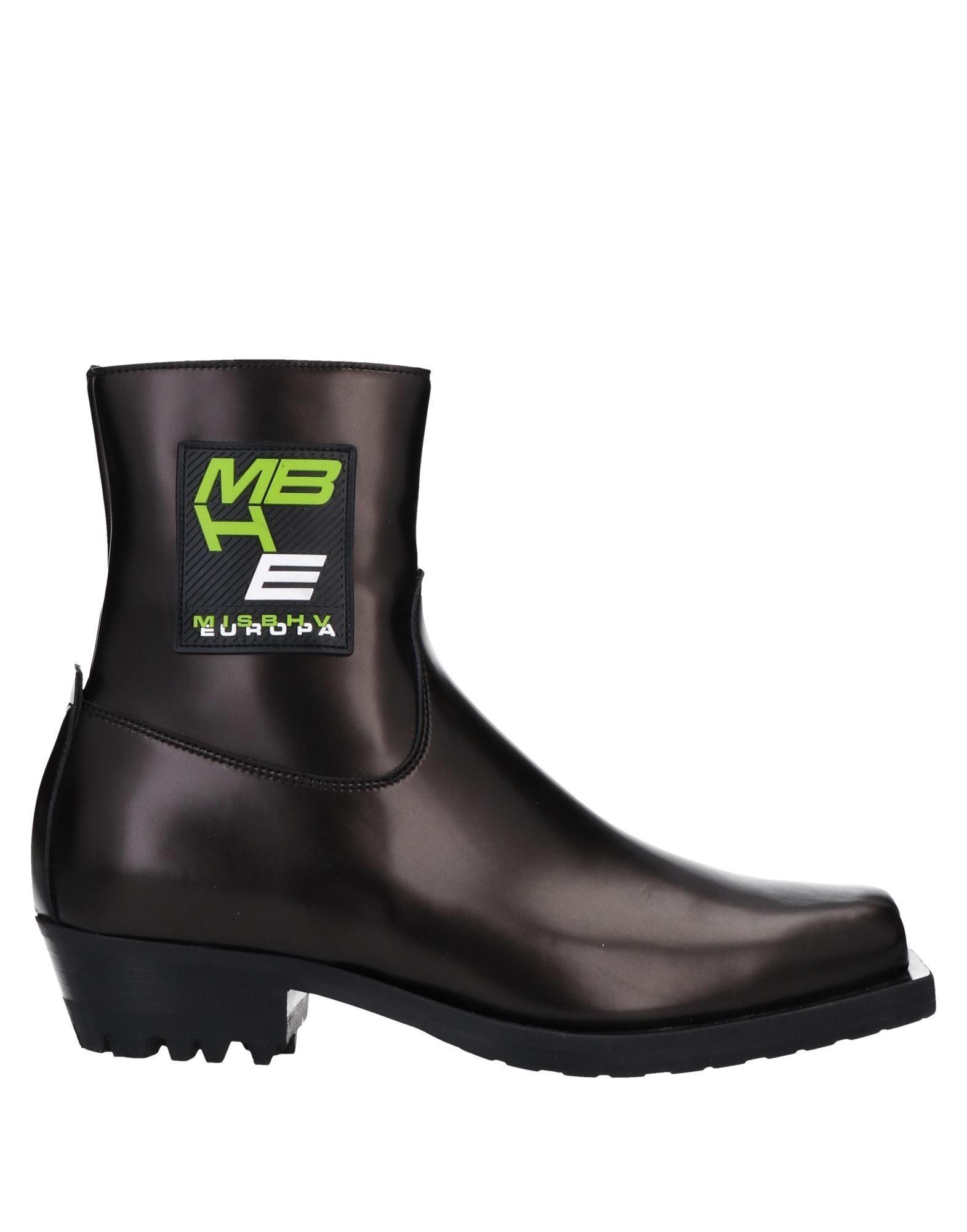 《セール開催中》MISBHV レディース ショートブーツ ブラック 36 ゴム