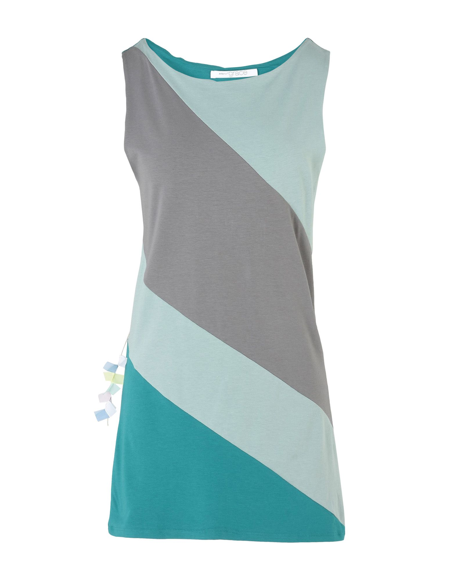 WEARGRACE Sports Bras And Performance Tops in Grey