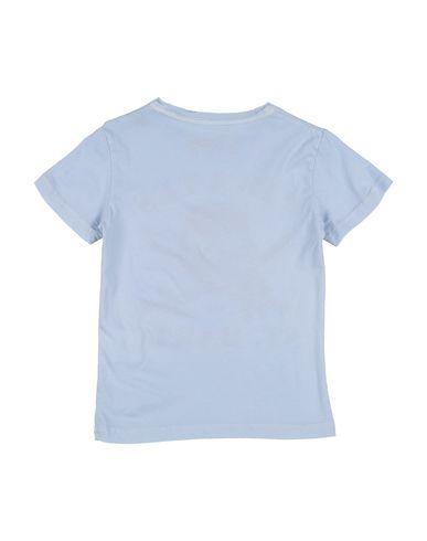 Фото 2 - Футболку небесно-голубого цвета