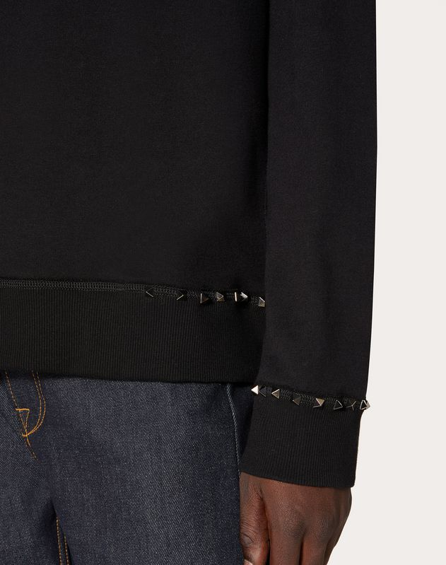 ROCKSTUD UNTITLED JERSEY SWEATSHIRT