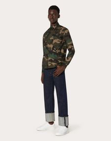 CAMOUFLAGE 印纹长袖衬衫