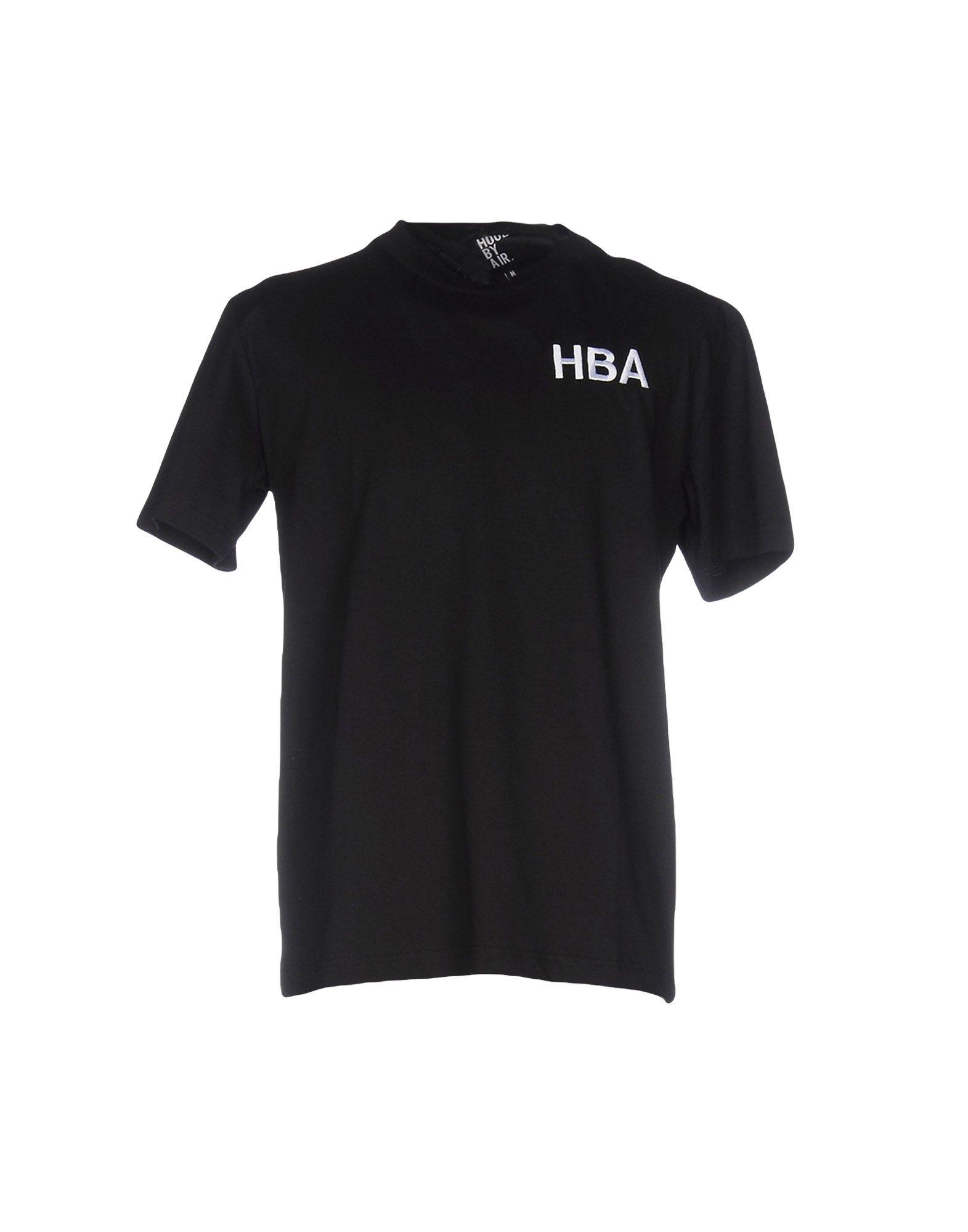 HBA HOOD BY AIR Футболка 2 piece set locking hood look catch hood latches kit for jeep wrangler jk rubicon sahara unlimited 2007 2016
