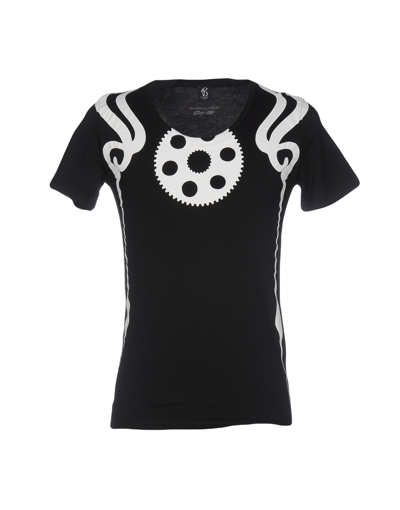 STORIES MILANO T-Shirts in Black